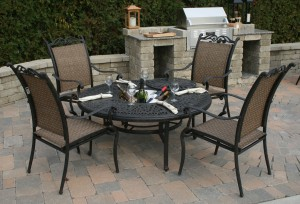 Patio furniture assembly and delivery